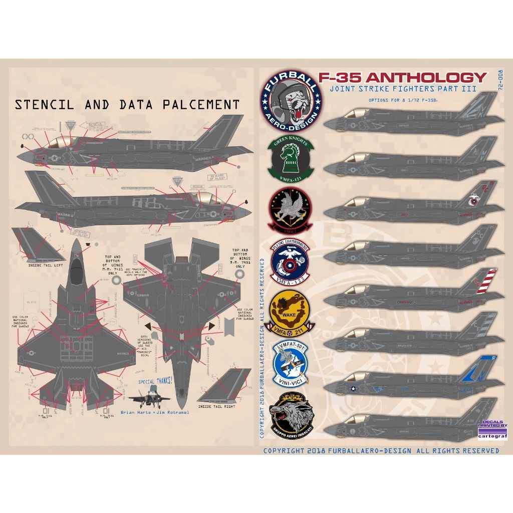 【新製品】72-008 ロッキードマーティン F-35B ライトニングII アンソロジー