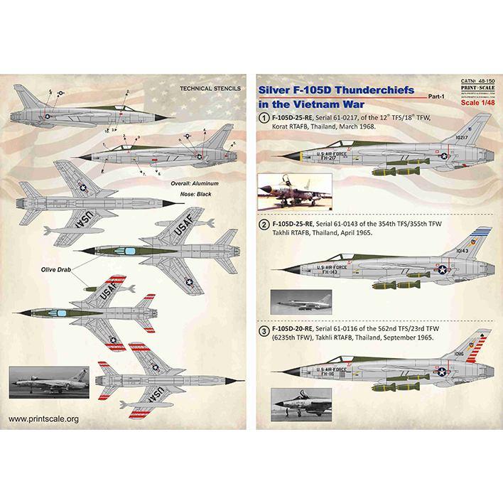 【新製品】48150 リパブリック F-105D サンダーチーフ ベトナム戦争 Pt.1