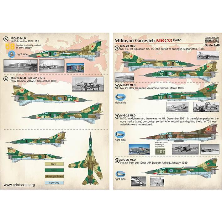 【新製品】48161 MiG-23 Part1