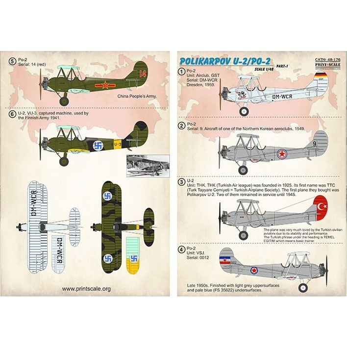 【新製品】48176 ポリカルポフ U-2/Po-2 Pt.1