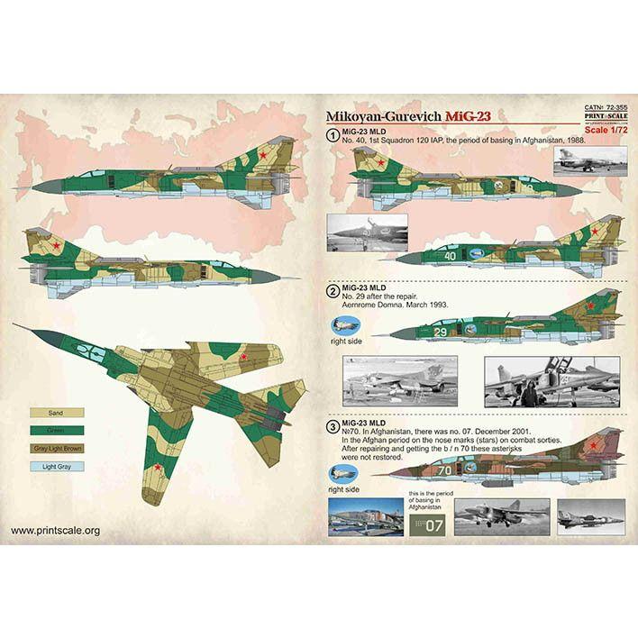 【新製品】72355 ミグ MiG-23 フロッガー