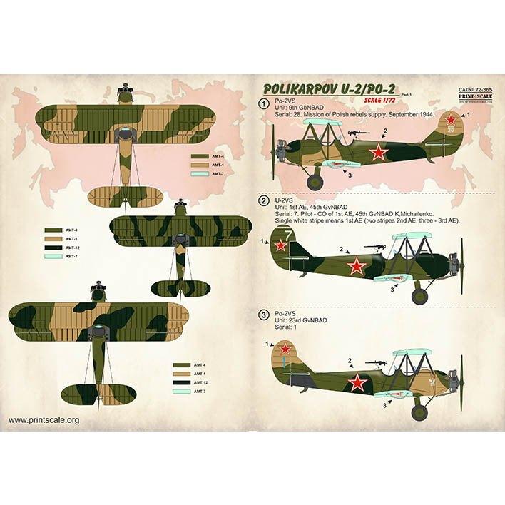 【新製品】72365 ポリカルポフ U-2/PO-2 Part1