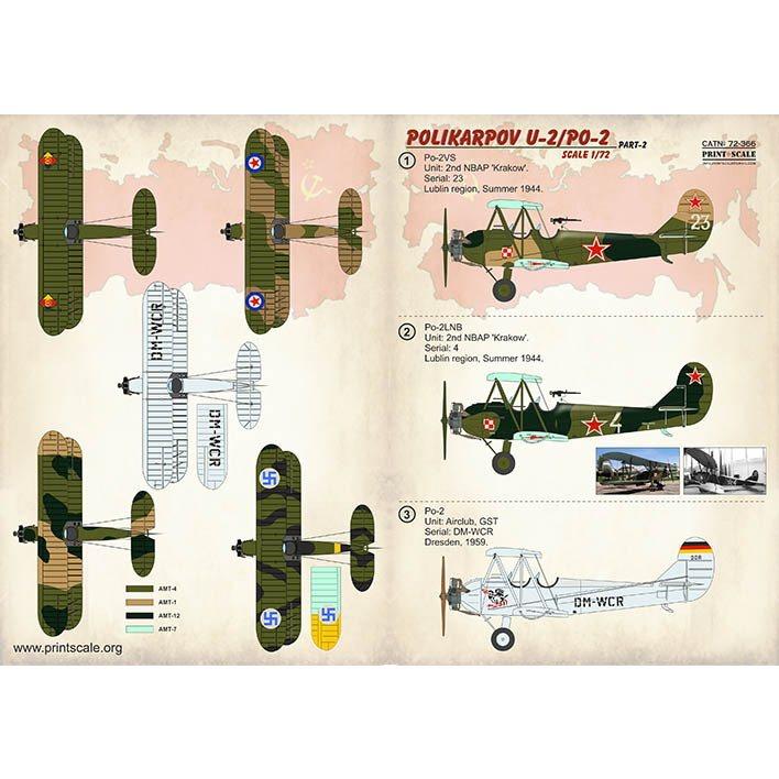 【新製品】72366 ポリカルポフ U-2/PO-2 Part2