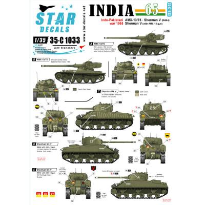 【新製品】35-C1033)インド・パキスタン戦争'65 デカールセット