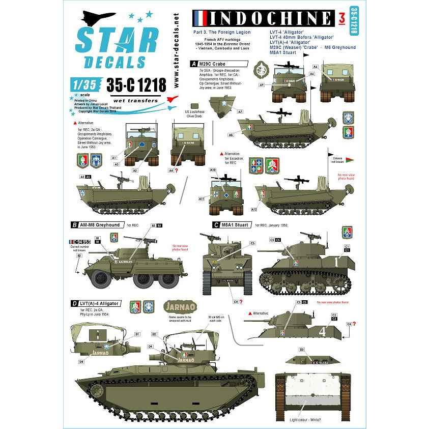 【新製品】35-C1218 仏 ベトナム戦争 第一次インドシナ戦争でのフランス極東遠征軍 #3