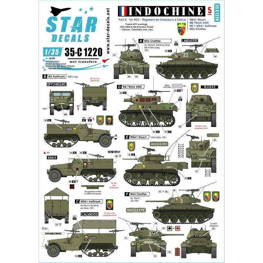 【新製品】35-C1220 仏 ベトナム戦争 第一次インドシナ戦争でのフランス極東派遣軍 #5