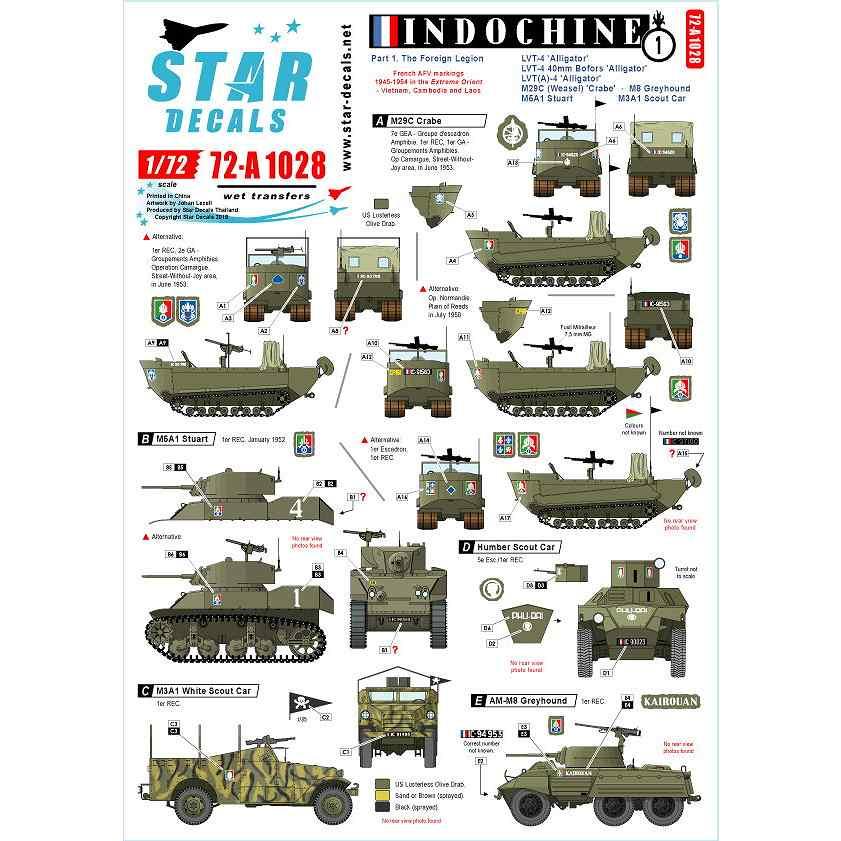 【新製品】72-A1028 仏 ベトナム戦争 第一次インドシナ戦争でのフランス極東遠征軍 #1