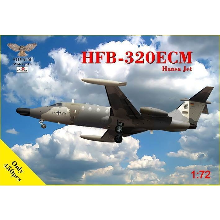 【新製品】SVM-72014 ハンブルガー・フルクツォイクバウ HFB-320ECM ハンザジェット
