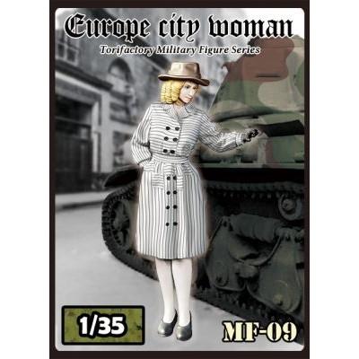 【新製品】MF-09 WWII 仏 パリの若き婦人