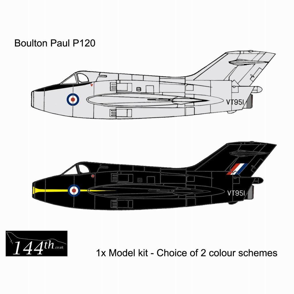 【新製品】144005 ボルトンポール P120 デルタ翼実験機