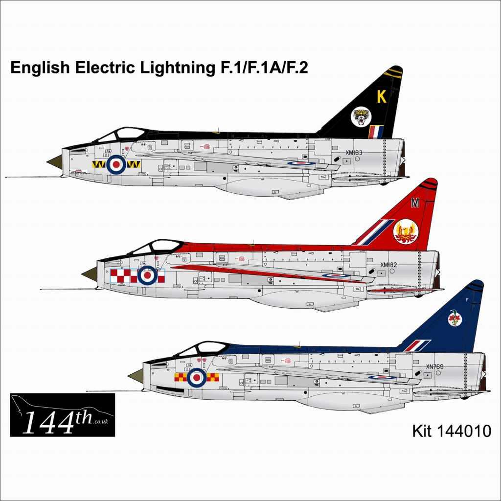 【新製品】144010 イングリッシュ・エレクトリック ライトニング F.1/F.1A/F.2