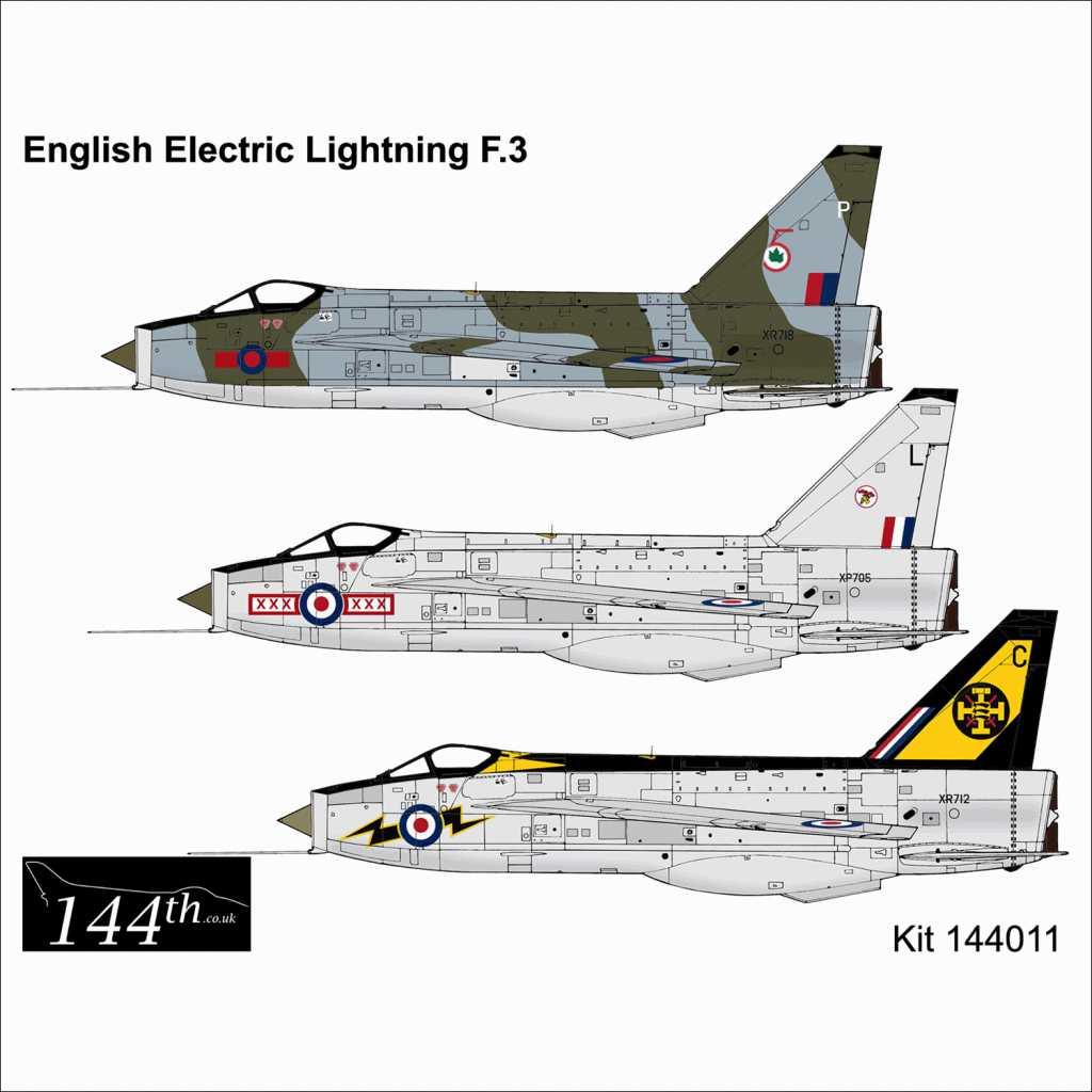 【新製品】144011 イングリッシュ・エレクトリック ライトニング F.3