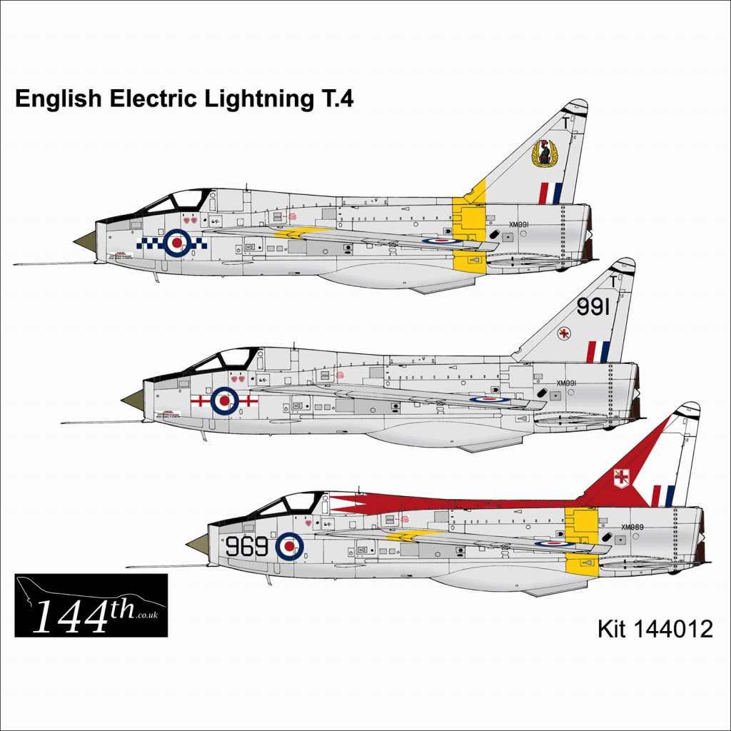 【新製品】144012 イングリッシュ・エレクトリック ライトニング T.4