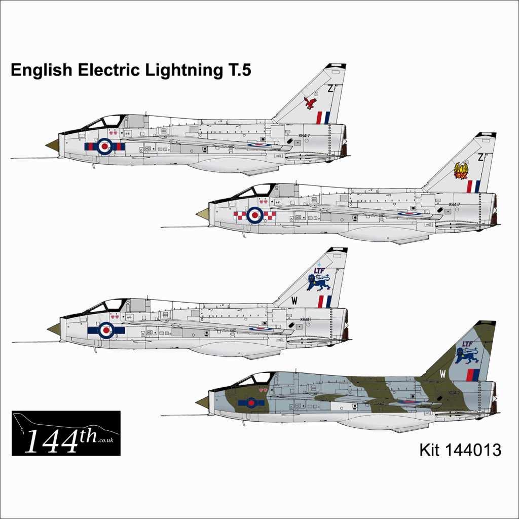 【新製品】144013 イングリッシュ・エレクトリック ライトニング T.5