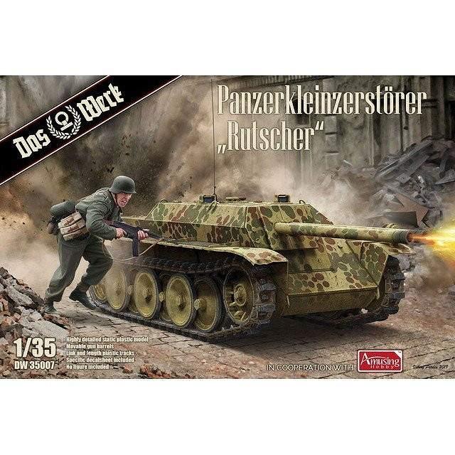 【新製品】DW35007 ドイツ 軽戦車駆逐車 ルットシャー