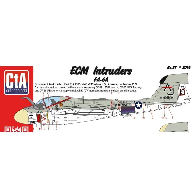 【新製品】CTA-27 グラマン EA-6A ECM イントルーダー