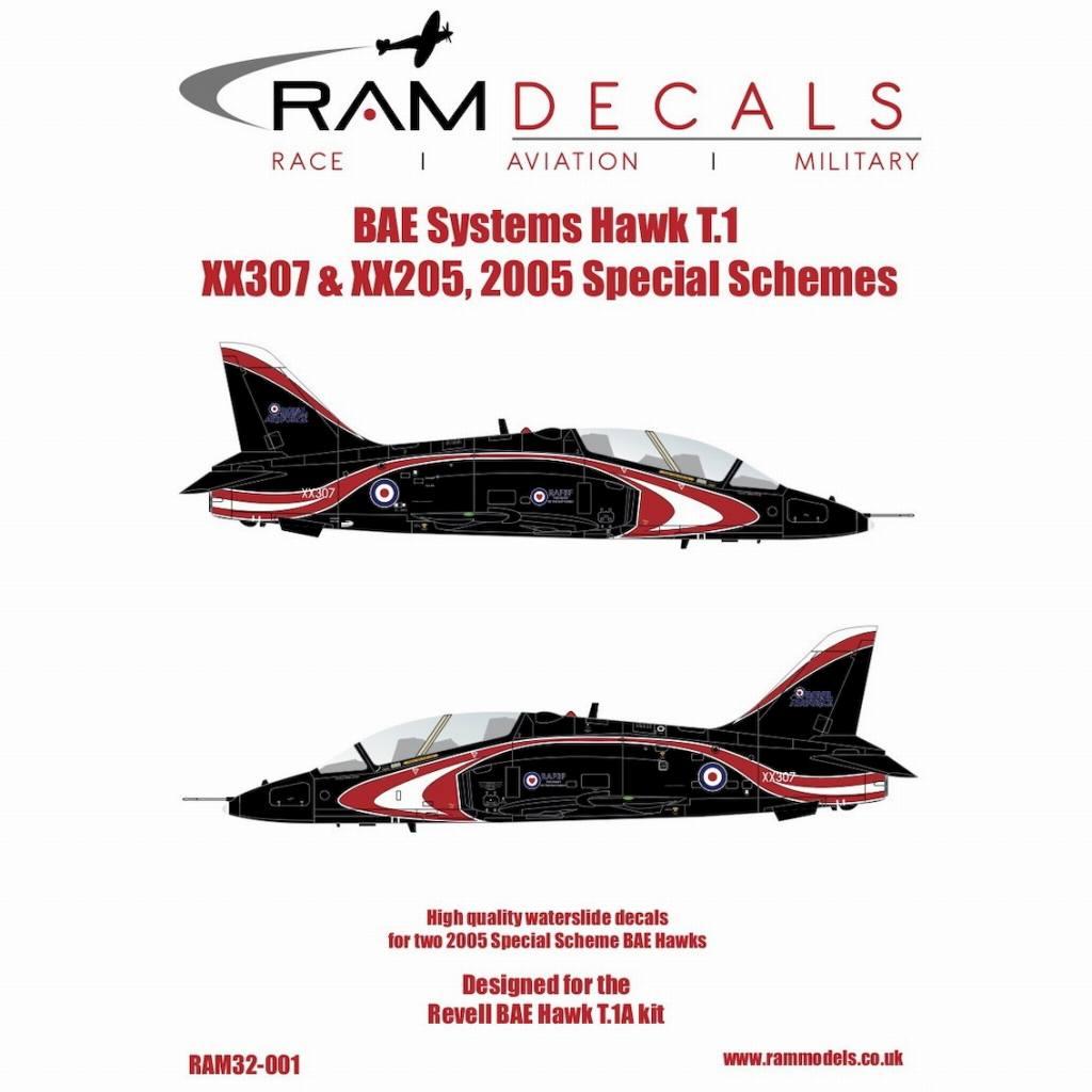 【新製品】32-001 BAeシステムズ ホーク T.1 2005スペシャルスキーム