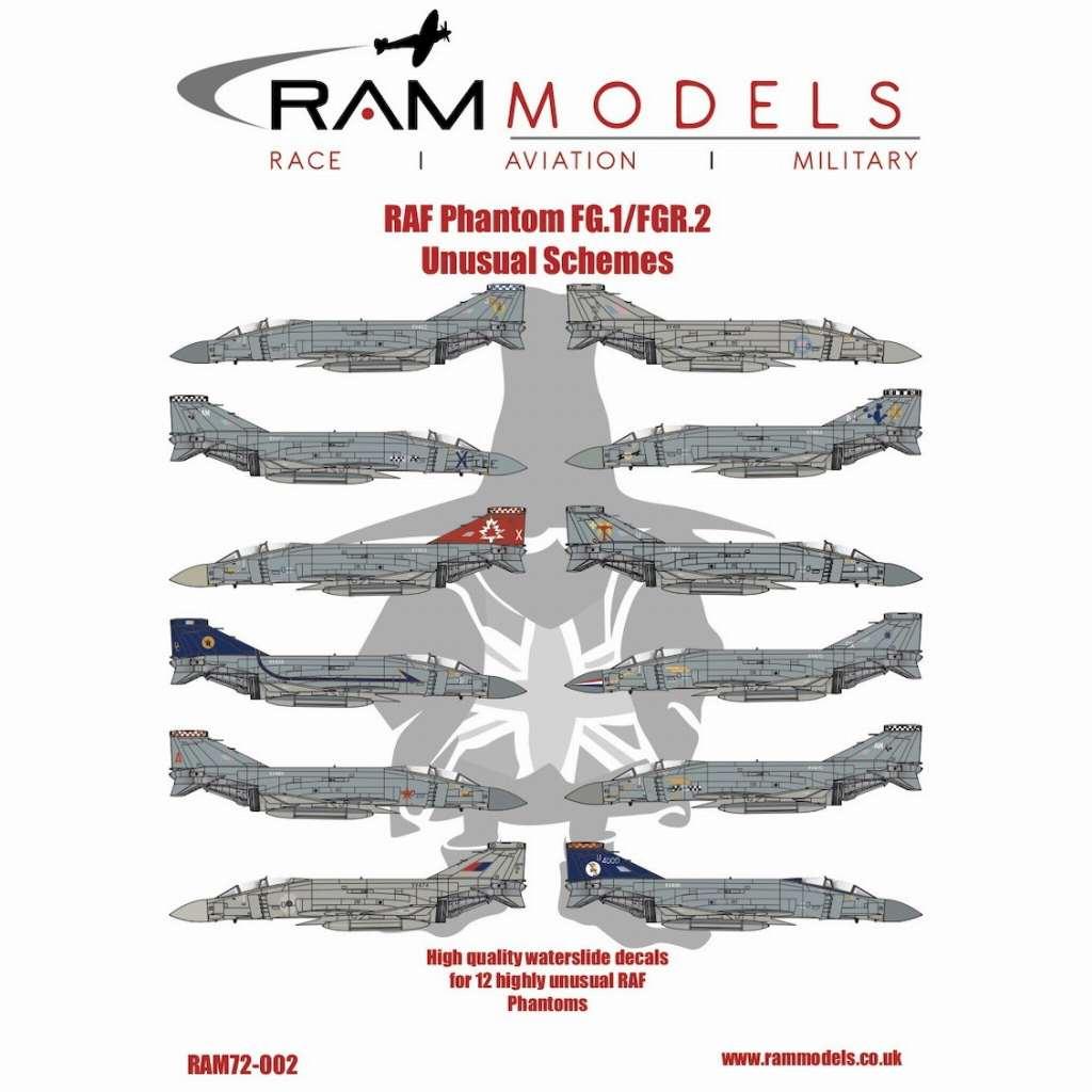 【新製品】72-002 マクドネル・ダグラス ファントム FG.1/FGR.2 イギリス空軍