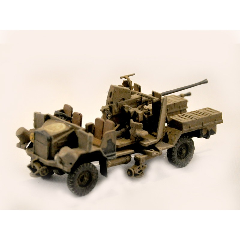 【新製品】GI 003 WWII イギリス モーリス C/9 トラック ボフォース 40mm機関砲搭載型