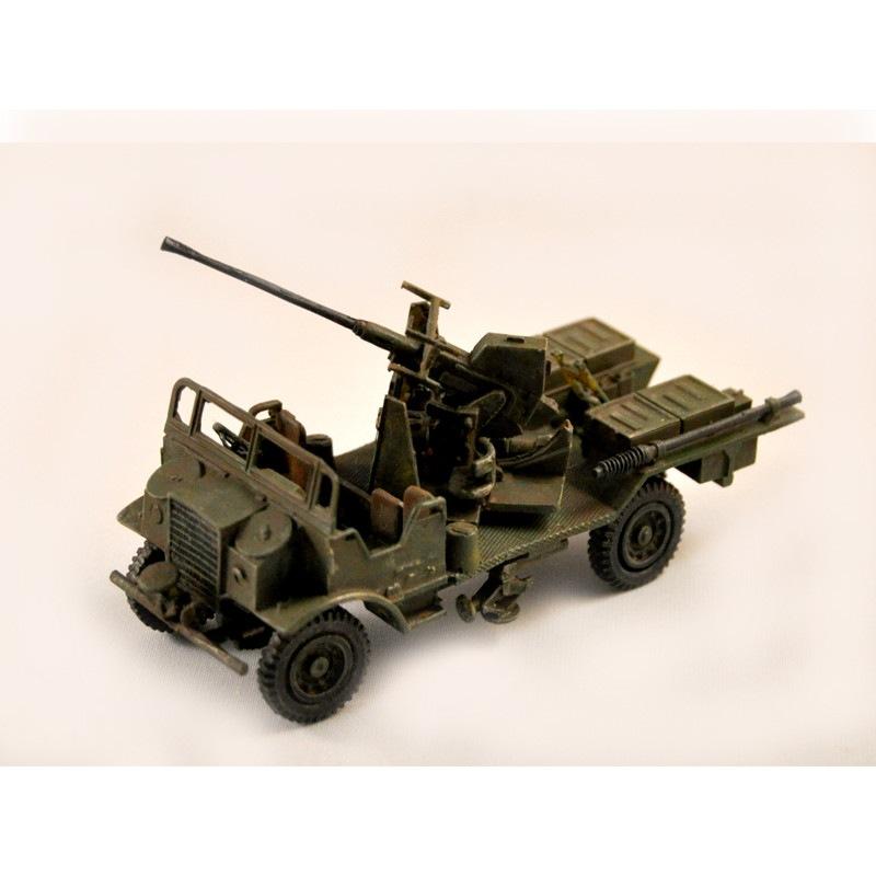 【新製品】GI 004 WWII イギリス シボレー CMP トラック ボフォース 40mm機関砲搭載型