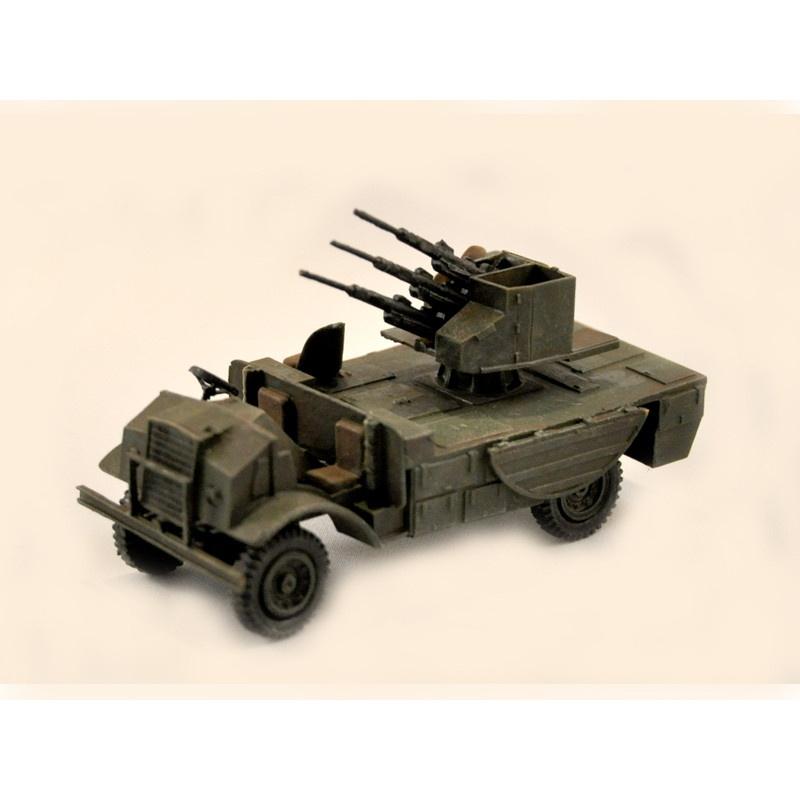 【新製品】GI 005 WWII イギリス シボレー CMP トラック ポルステン 20mm機関砲搭載型