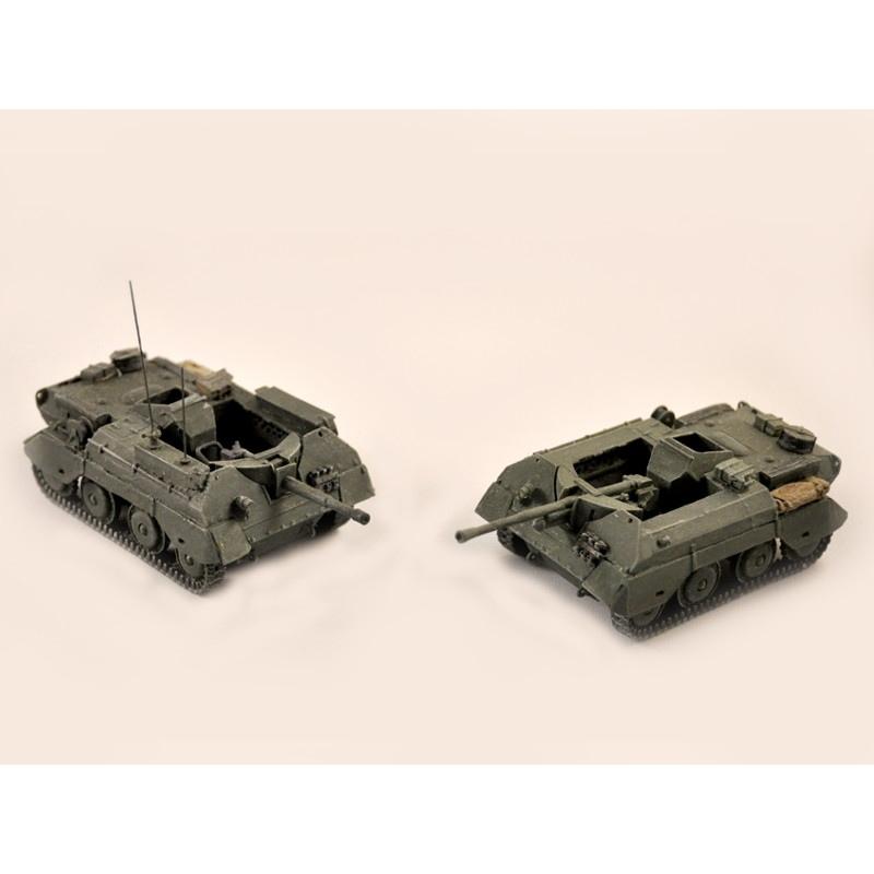 【新製品】GI 022 WWII イギリス アレクト 自走砲 95mm/6ポンド砲搭載型