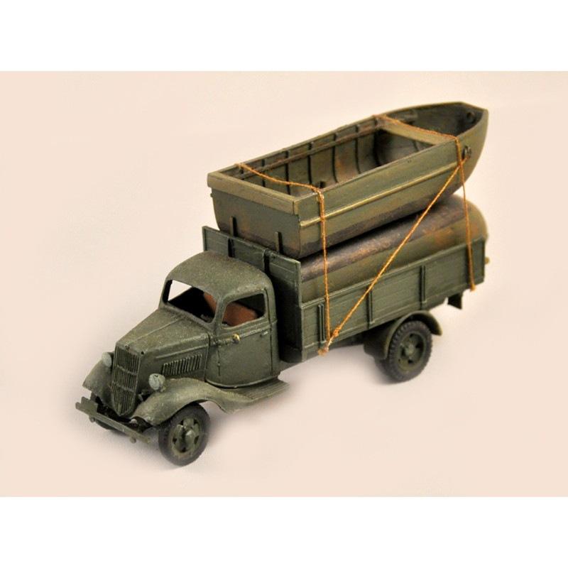 【新製品】GI 027 WWII アメリカ フォード V8 トラック w/ポンツーン