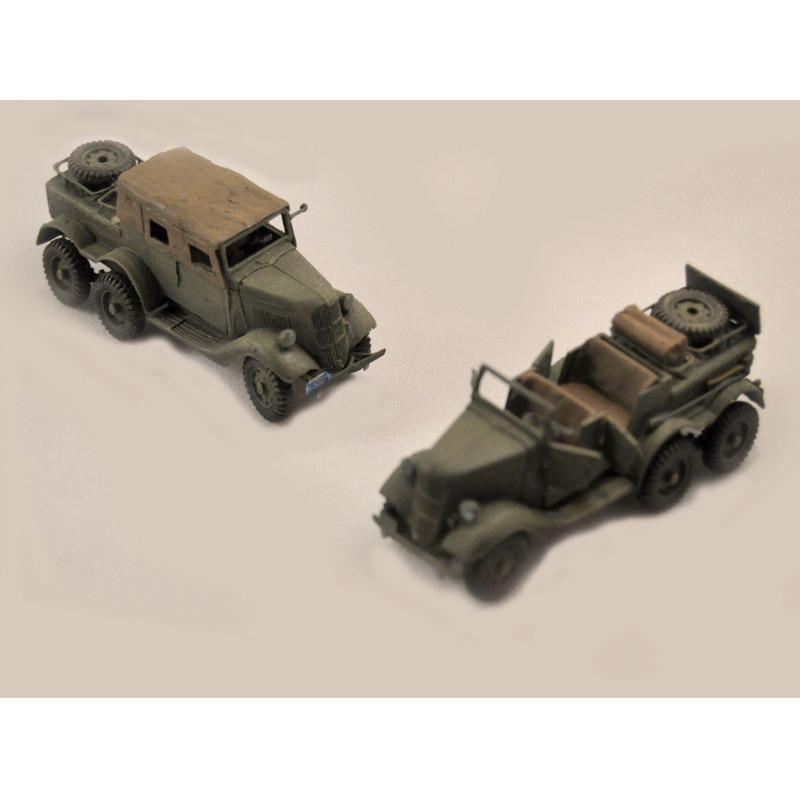 【新製品】GI 028 WWII アメリカ フォード トラド K.R.A. 砲兵トラクター