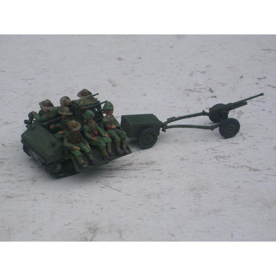 【新製品】GI 039 WWII 王立オランダ領東インド陸軍 ヴィッカース カーデン・ロイド 汎用トラクター w/47mm 対戦車砲
