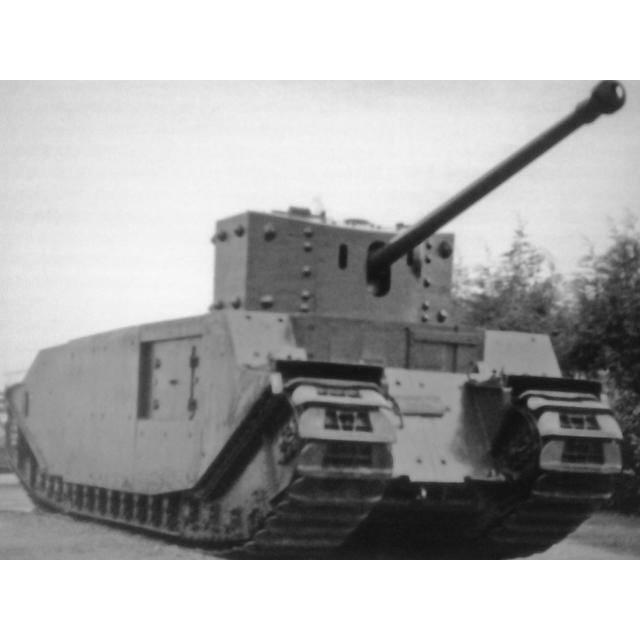 【新製品】GI 046 WWII イギリス TOG 2 重戦車