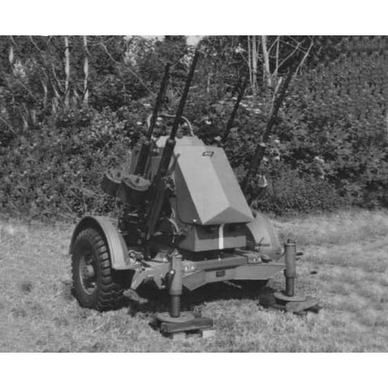 【新製品】GI 052 WWII ポーランド ポルステン 20mm4連装対空機関砲