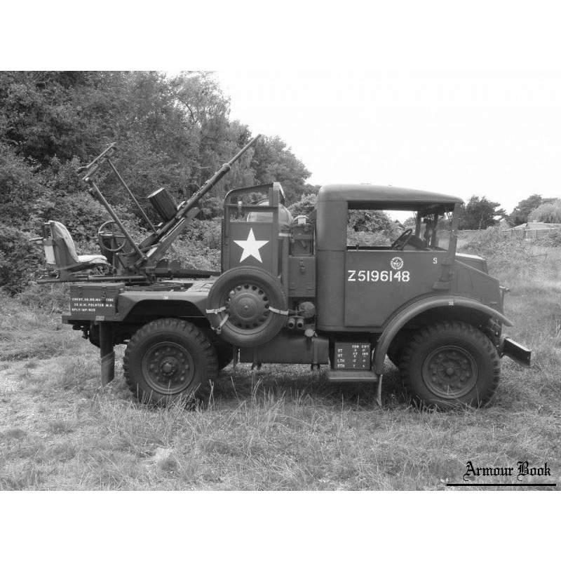 【新製品】GI 054 WWII カナダ CMP 15cwt トラック ポルステン 20mm機関砲型