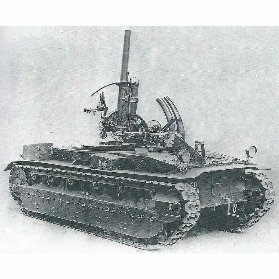 【新製品】GI 056 WWII イギリス ヴィッカース 中戦車 マークII バーチ・ガン