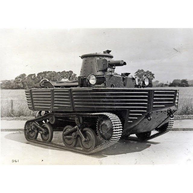 【新製品】GI 064 WWII イギリス ヴィッカース L1E3 水陸両用戦車