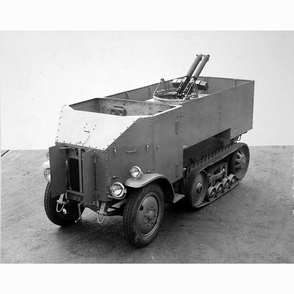 【新製品】GI 066 WWII イギリス バーフォード 装甲兵員輸送ハーフトラック
