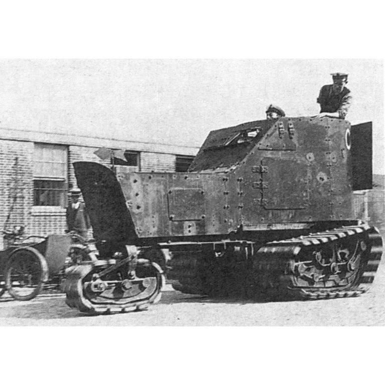 【新製品】GI 067 WWII アメリカ キレン・ストレート 装甲トラクター