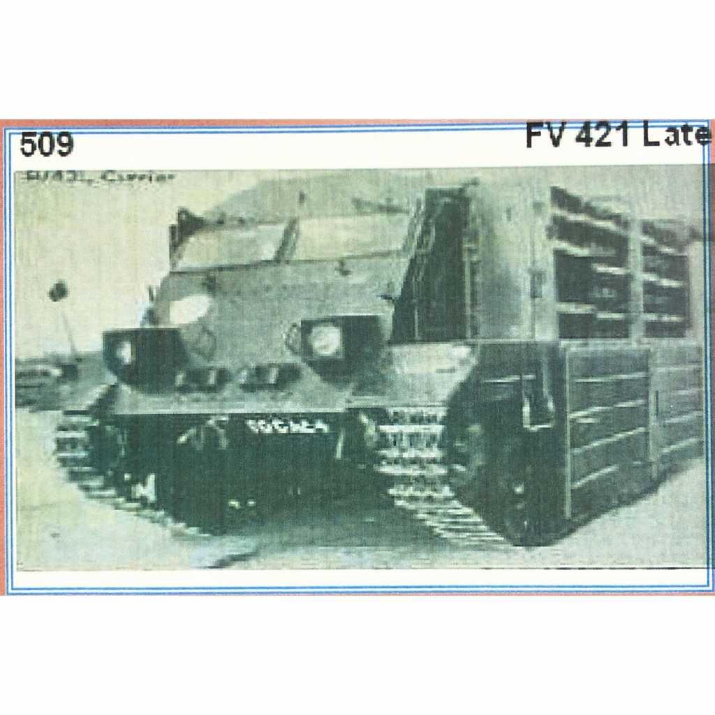 【新製品】GI 509 イギリス FV421 カーゴキャリア 後期型