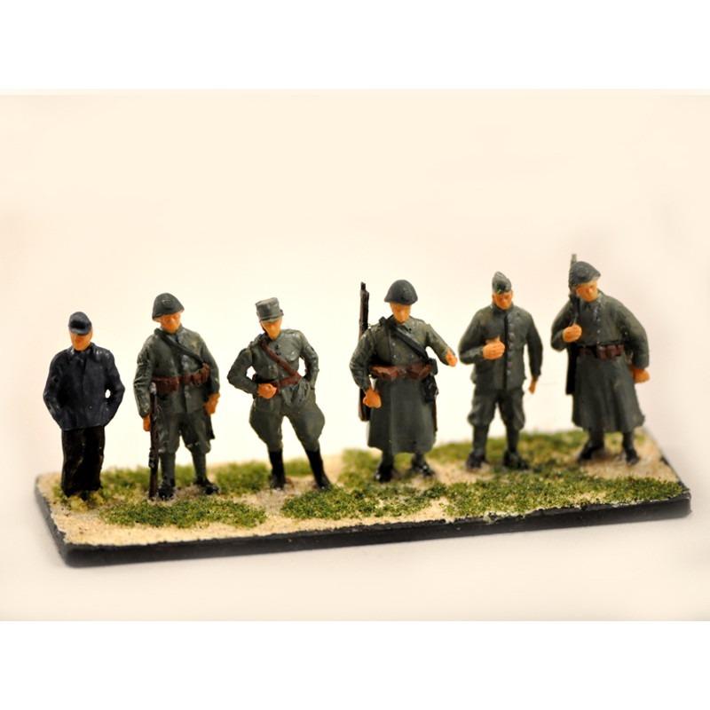 【新製品】GI F1 WWII オランダ兵と農夫 1939-1940