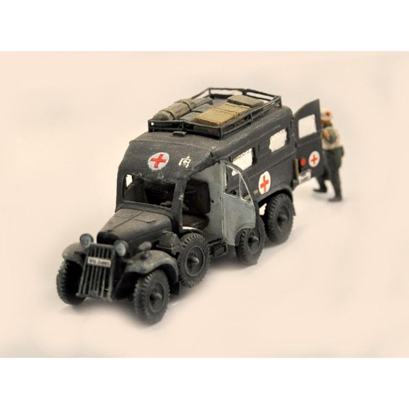 【新製品】DBLS 4 WWII ドイツ シュタイヤー 640 救急車