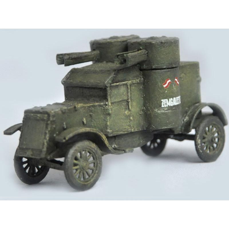 【新製品】DBLS 7 WWI イギリス オースチン 装甲車 2型