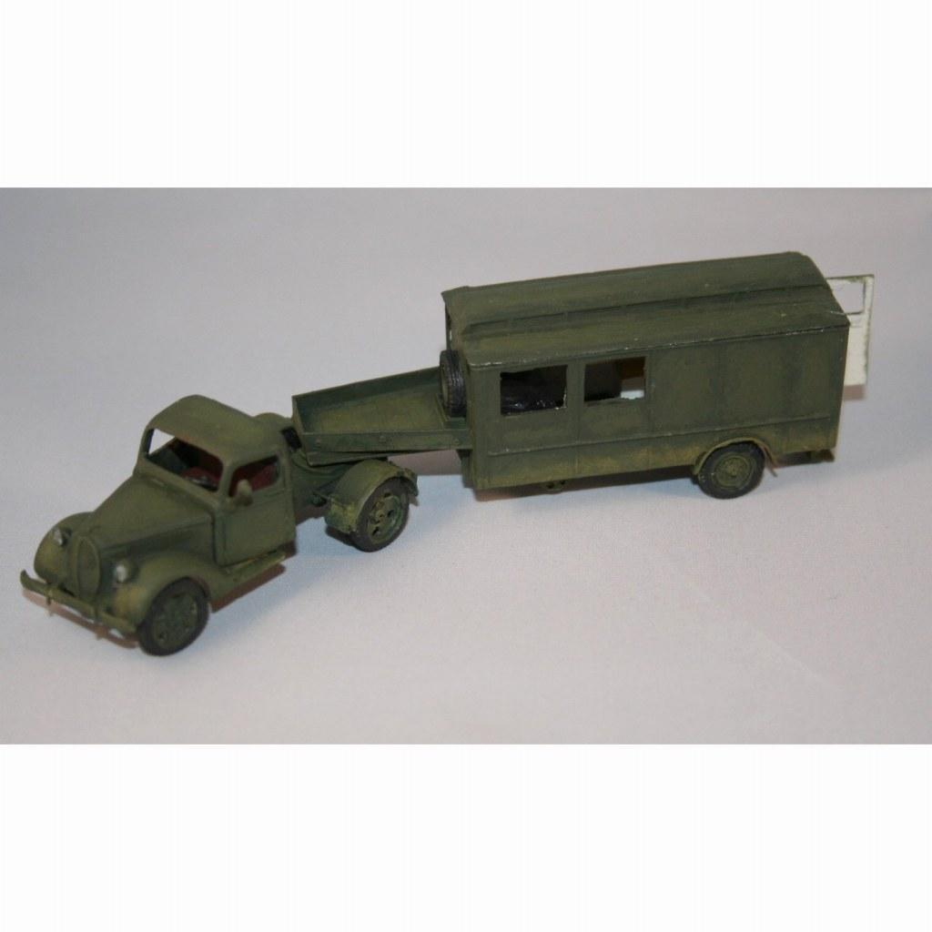 【新製品】DBLS 8 WWII オランダ フォード キッチントレーラー 1940
