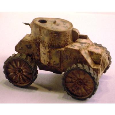【新製品】DBLS 10 WWII イタリア フィアット・アンサルド 装甲車