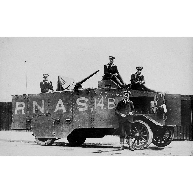 【新製品】DBLS 16 WWI イギリス シーブルック ガントラック