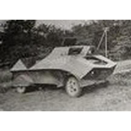 【新製品】DBLS 18 WWII 王立オランダ領東インド(インドネシア)陸軍 ブラート装甲車 フォードタイプ