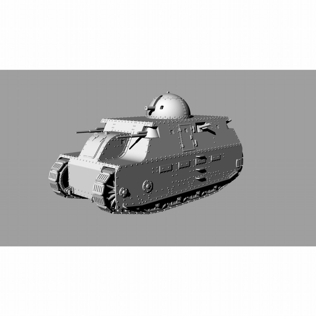 【新製品】DBLS 28 イタリア フィアット2000 重戦車 1934年仕様