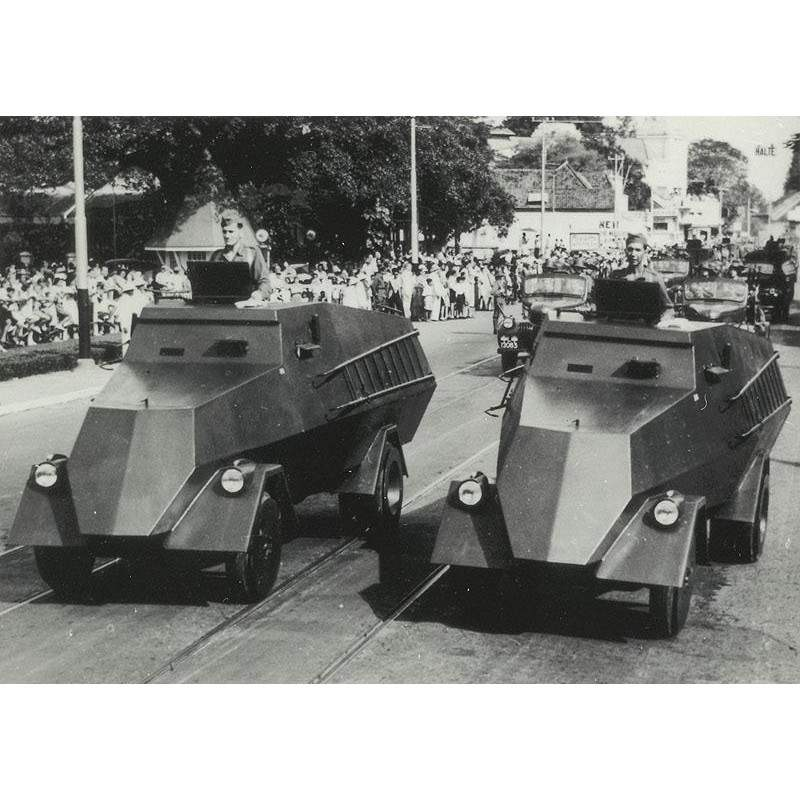 【新製品】DBLS 29 王立オランダ領東インド(インドネシア) スラバヤ市警 装甲車 1941