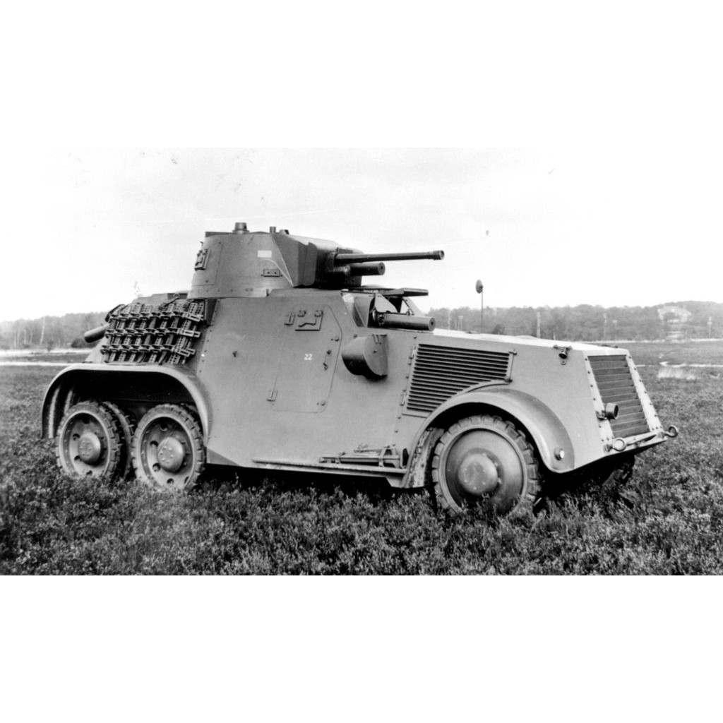 【新製品】DBLS 33 WWII オランダ ランズベルク M38 装甲車