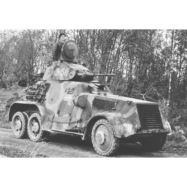 【新製品】DBLS 34 WWII スウェーデン M/41 装甲車