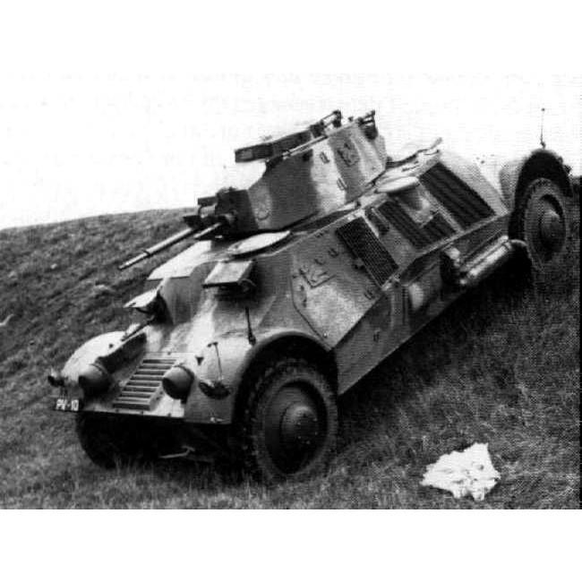 【新製品】DBLS 37 スウェーデン M39,40 装甲車/デンマーク ランズベルク リンクス 装甲車