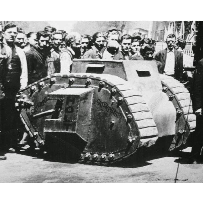 【新製品】DBLS 38 WWI アメリカ ホルト 豆戦車 1918